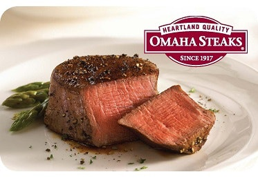 $100 Omaha Steaks Gift Card