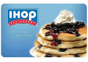 60 Bids + $100 iHOP Gift Card!
