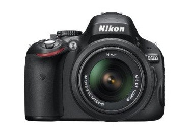 Nikon D5100 Digital SLR Body w/ 18-55mm Lens