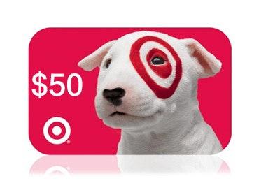 40 Bids + $50 Target Gift Card