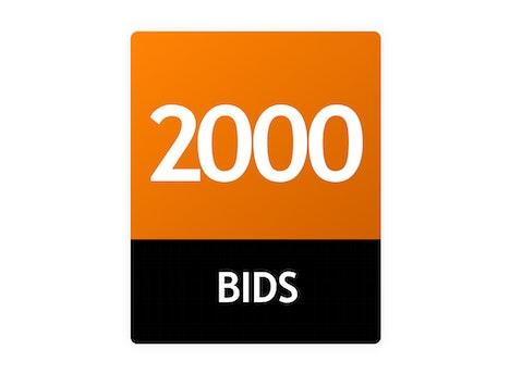 2000 Bid Pack