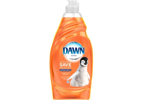 Dawn Ultra Antibacterial Hand Soap Dishwashing Liquid