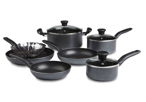 T-Fal Initiatives Non-Stick 10 Piece Set