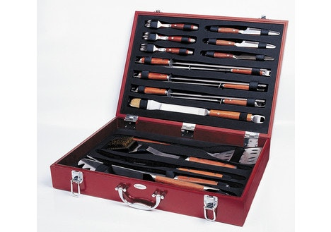 Forged 25pc BBQ Set in Case
