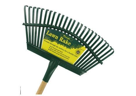 Flexrake 48-inch Handle with 19-inch Steel Head Lawn Rake
