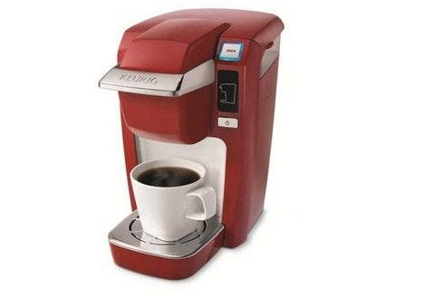 Drip Coffee Maker Vs Keurig : DealDash - Keurig K10 Mini Plus Coffeemaker Brewing System, Red