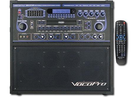 VocoPro Gigstar Jam-Along Karaoke System