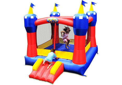 Blast Zone Magic Castle Inflatable Bounce House