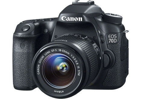 Canon EOS 70D Digital SLR Camera with 18–55mm IS STM Lens