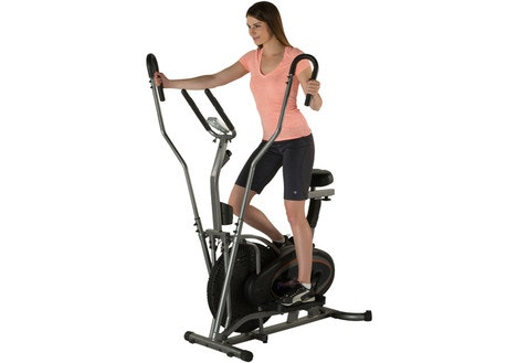 Fitness Reality 2-In-1 Air Elliptical and Exercise Bike