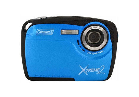 Coleman Blue Xtreme2 Waterproof Digital Camera with 16 MP