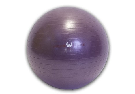 Natural Fitness 55cm 300 lb. Burst Resistant Exercise Ball