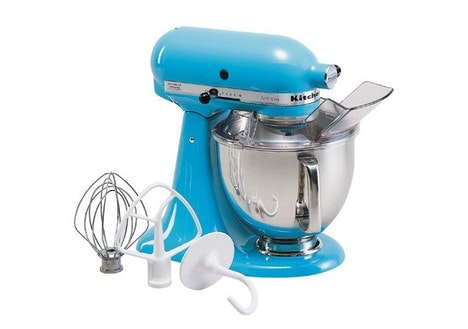 KitchenAid Artisan Series 5 Quart Stand Mixer, Crystal Blue
