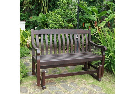 Delahey Outdoor Porch Glider Bench