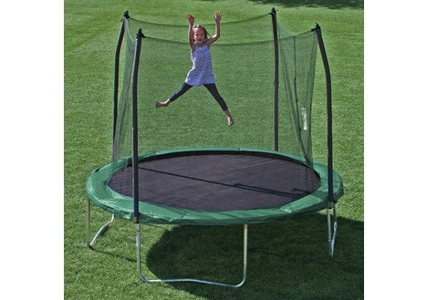 Skywalker Trampolines Round Trampoline and Safety Enclosure