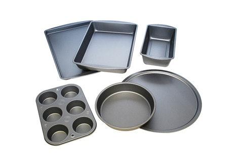BakerEze 6-Piece Non-stick Bakeware Set